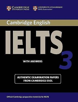 Cambridge IELTS 3 Student's Book with Answers..., University of Cambri Paperback