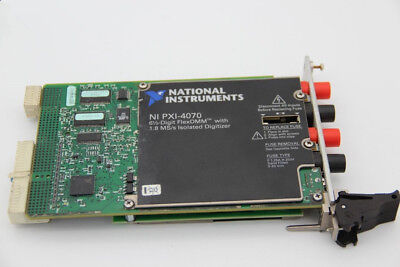National Instruments NI PXI-4070 Digital Multimeter Card 6-1/2 Digit DMM tested