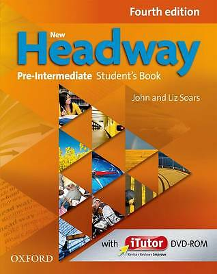 NEW HEADWAY Pre-Intermediate Fourth Edition Student's Book & iTutor DVD NEW