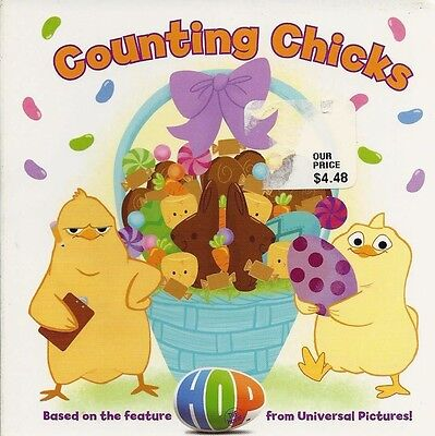 COUNTING CHICKS New BOARD Book BABY Toddler NUMBERS Count EASTER BASKET Hop