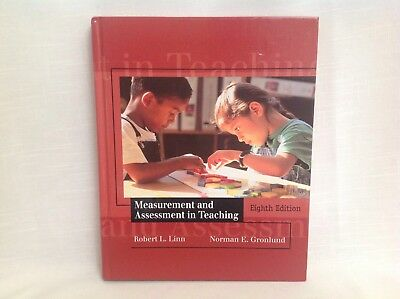 Measurement And Assessment In Teaching 8th Edition, By Linn & Gronlund
