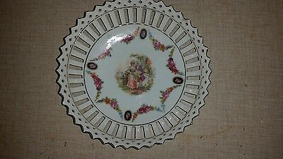 Vintage Made in Germany Small Bowl/Dish w Cut Outs