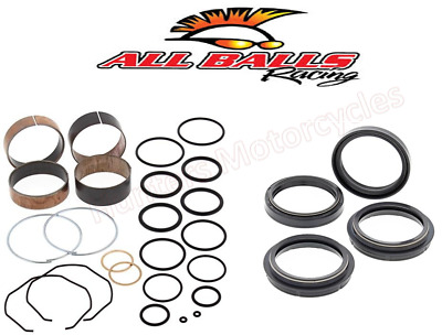 Yamaha YZ250 Front Fork Bushes Fork Oil Seals & Dust Seal Kit Set (2005 to 2016)