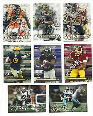 2014 Topps Inserts - Greatness Unleashed, Fantasy - Focus, Strategies -  U Pick!