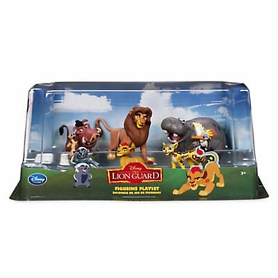BNIB Disney Store THE LION GUARD 6 Piece Figurine Playset Playset Cake Toppers