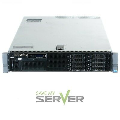 "Dell PowerEdge R710 2.5"" Server - 2x 2.40GHz 12 CORES - 32GB - 2 Trays"