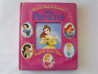 Disney princess Happily ever after musical magical treasury book