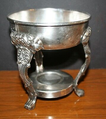 Unbranded Silver Plated Pitcher Stand Ice Guard Kettle Stand Teapot EUC