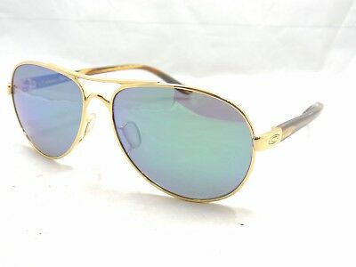Oakley Tie Breaker 4108 12 Polarized Aviator Sunglasses 56 13 135
