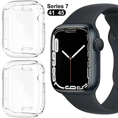 For Apple Watch Series 3/2/1 Full Body Cover TPU Case Screen Protector 38&42mm