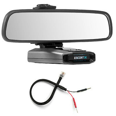 Mirror Mount Bracket + Mirror Wire Power Cord for Escort iX EX Max 360C