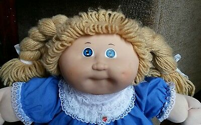 """1984 TSUKUDA CABBAGE PATCH KIDS 16"""" doll  -  coleco - JAPAN - SO CUTE!"""