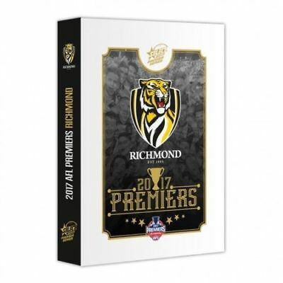 2017 AFL SELECT RICHMOND TIGERS PREMIERSHIP PREMIERS SET IN BOX 25 CARDS xz
