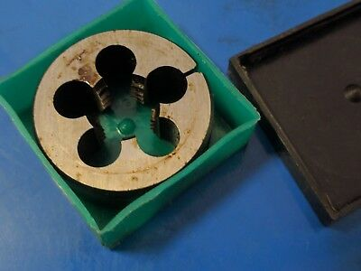 "Whitworth BSW 9/16"" x 12 tpi, RH. OD 1 1/2"" split Die Button, TOTEM England"