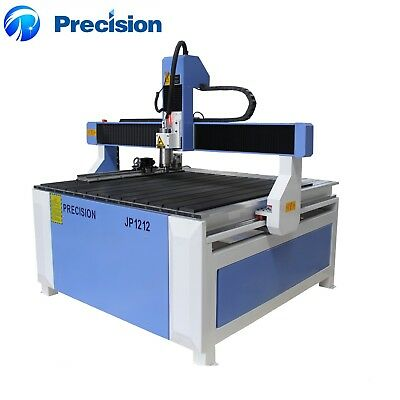 Precision brand new 4 axis 3D Rotary 1212 CNC router/Engraver Machine Free Ship