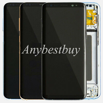 Replacement LCD Frame Screen Touch Digitizer For Samsung Galaxy S8 S9 Plus USA