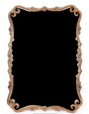 French Style Gold Tone Wall Mirror