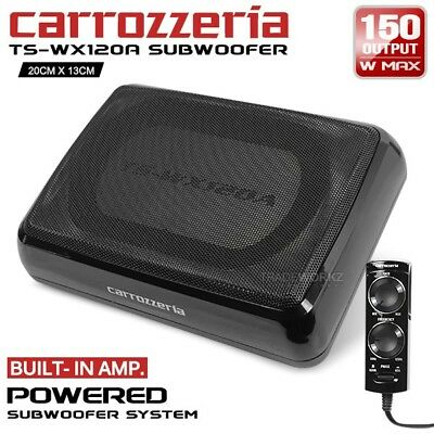 "CARROZZERIA TS-WX120A 150W 8"" Compact Built In Amplifier Active Car Subwoofer"