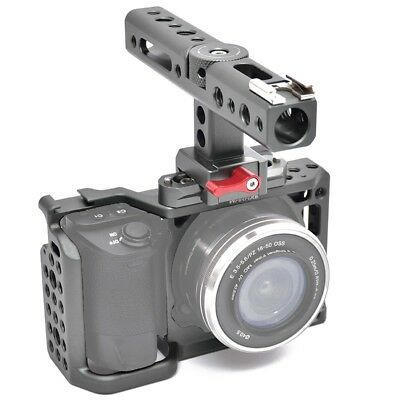 WARAXE Camera Video Cage Rig + Top Handle For SONY A6000 A6300 A6500 Camera【AU】