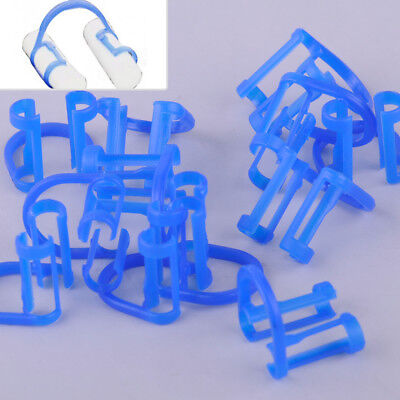 100x Disposable Cotton Roll Holder Clip For Dental Clinic Lab Teeth Orthodontic