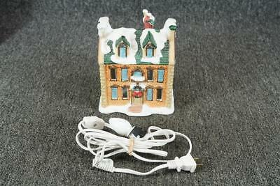 Vintage Noma Dickensville Collectibles Porcelain Lighted House #6101