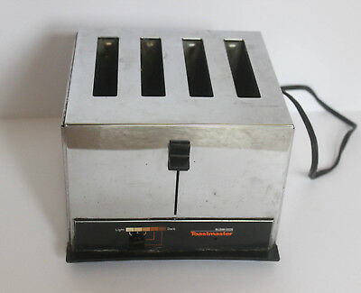 Vintage  Chrom Toastmaster  4er Toaster  McGraw Edison  Model 126A Boonville USA