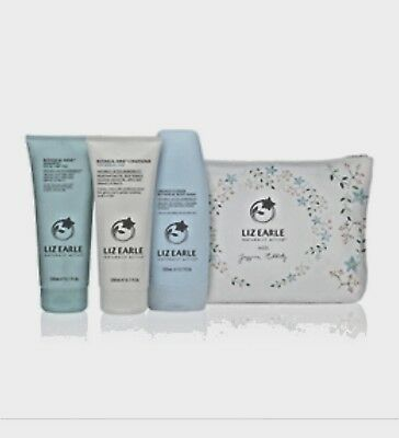 Liz Earle Gift Set - Shampoo, Conditioner & Body Wash, Brand New