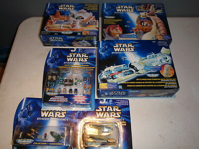 Star Wars Episode I Micro Machines Podrace Arena Droid Trade More Lot New