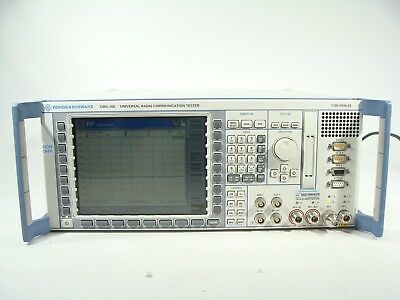 Rohde & Schwarz CMU200 Radio Communication Tester Spectrum Analyzer BLUETOOTH!