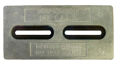 PERFORMANCE METAL Hull Plate - Diver's Anode  Part# HDDRA