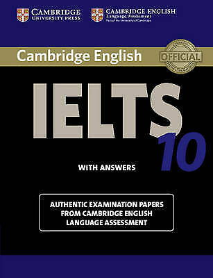 IELTS Practice Tests Ser.: Cambridge IELTS 10 Student's Book with Answers : Auth