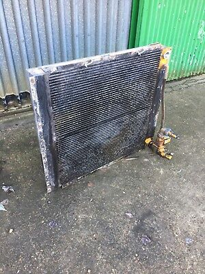 INGERSOLL RAND P600 OIL COOLER 1000mmW x903mmH x 140mmD AIR COMPRESSOR INC VAT