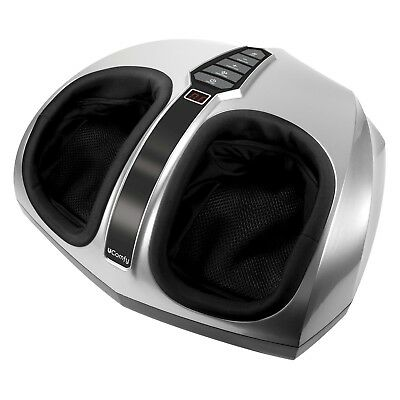 uComfy Shiatsu Foot Massager with Heat Therapy, Deep Kneading & Air Massage -New