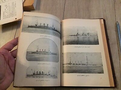 OTTOMAN BOOK SUBMARINES SHIPS WAR COMMERCIAL TUGS BOATS AMAZING VISUAL 1910s RRR