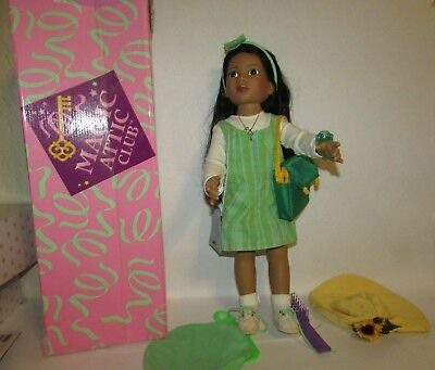 "Magic Attic Club ROSE 18"" Vinyl Ethnic DOLL by Robert Tonner IOB"