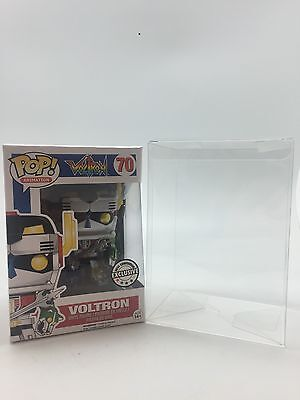"20 Funko Pop! 4"" Vinyl Box Protector Acid-Free 0.35 mm Crystal Clear Perfect Fit"