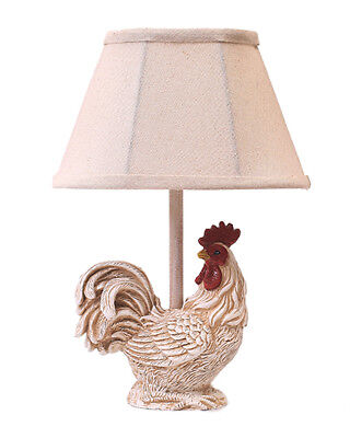 AHS Lighting Chante Claire Rooster Accent Lamp