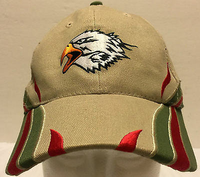 """Boy Scouts of America Eagle Fitted Hat Size Medium 22"""" Camping Scout Be Prepared"""