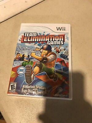 Nintendo Wii Video Game Team Elimination Games Factory Sealed Complete