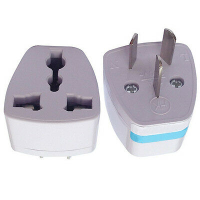 10pcs UK/US/EU to AU AUS AC Power Plug Adapter Travel 3 pin Australia w/