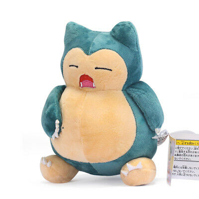"Pokemon Center 7"" Snorlax Plush Figure Doll Stuffed Animal Collectible Toy US"
