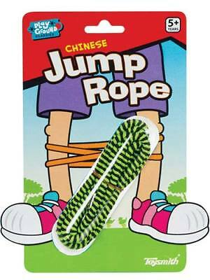 Toysmith Chinese Jump Rope, Assorted Colors