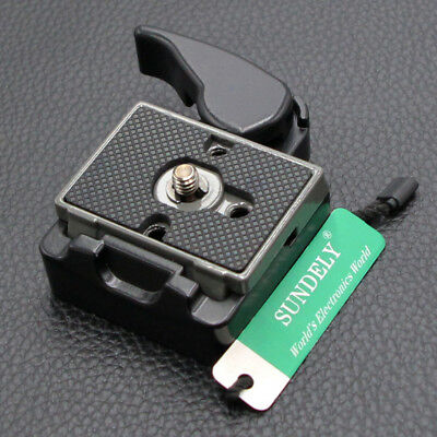 Camera 323 Quick Release Adapter with Manfrotto 200PL-14 Compat Plate