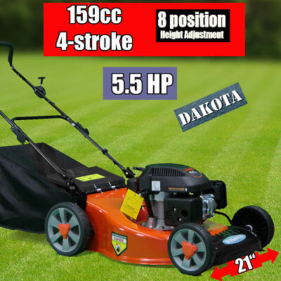 "NEW  21"" Lawn Mower 159cc 4-stroke DAKOTA 21 in Lawnmower Push Mower Bargain"