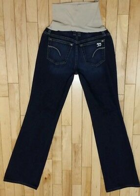 JOE'S JEANS A Pea in the Pod Full Panel Boot Cut Maternity Jeans Size 29x29""