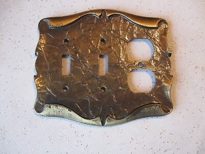 Vintage Amerock Carriage House Combination Switch Plate Outlet Cover