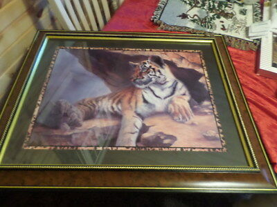Home Interior Large Tiger Print 33 X 27
