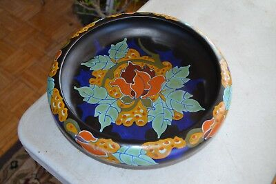 "11 1/2"" Gouda Art Pottery Bowl"