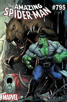 Amazing Spiderman 795 Dale Keown Hulk Variant Nm Pre-Sale 2/7