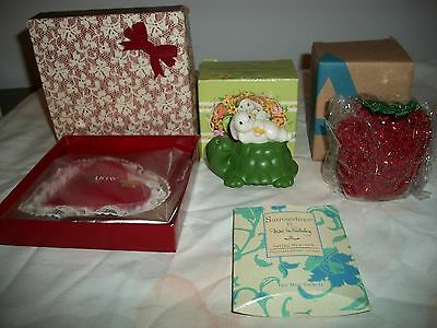 Avon Lot Of Sachet An Pomander Rabbit Fragrance Scented